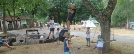 Schat zoeken op de camping