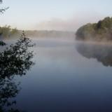 camping met uitzicht op meer
