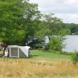 Camping Frankrijk voorseizoen aan een meer