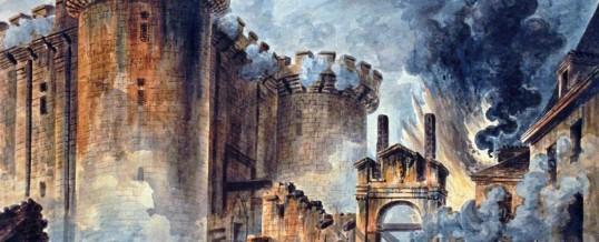 Bestorming van de Bastille nu vuurwerk