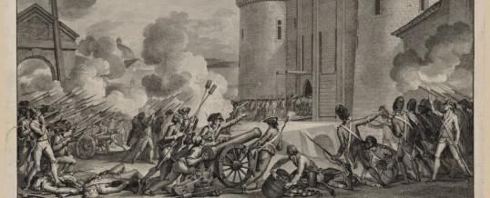 14 Juli in Frankrijk de bestorming van Bastille