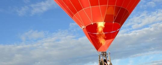 Weersvooruitzichten voor vandaag zaterdag 22 augustus 32 graden morgen even iets minder maar misschien wel het mooiste in geheel Frankrijk, een super dag voor een ballonvaart
